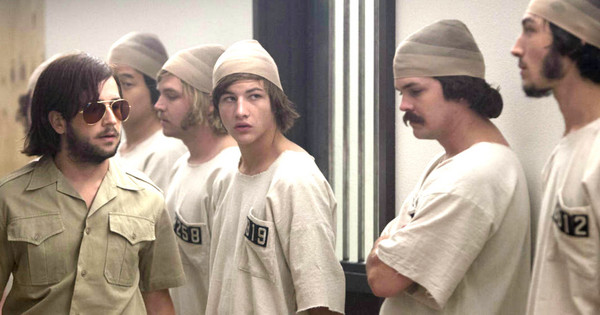 Screenshot from The Stanford Prison Experiment film